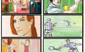 color storyboards